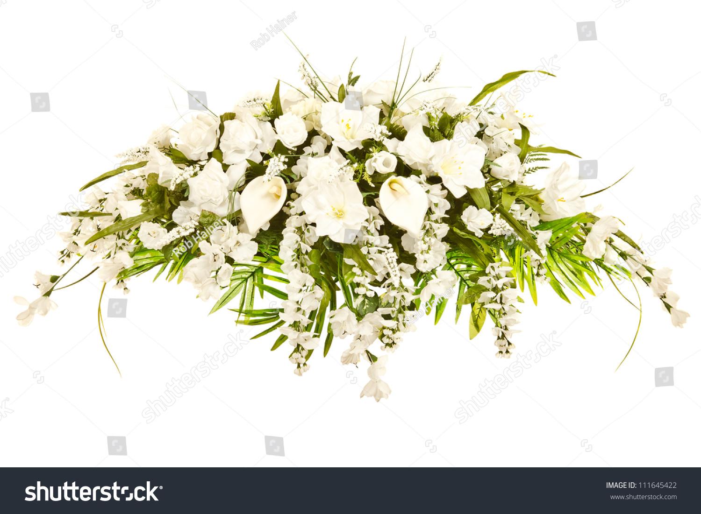 Silk Casket Cover Funeral Flower Arrangement Stock Photo Edit Now