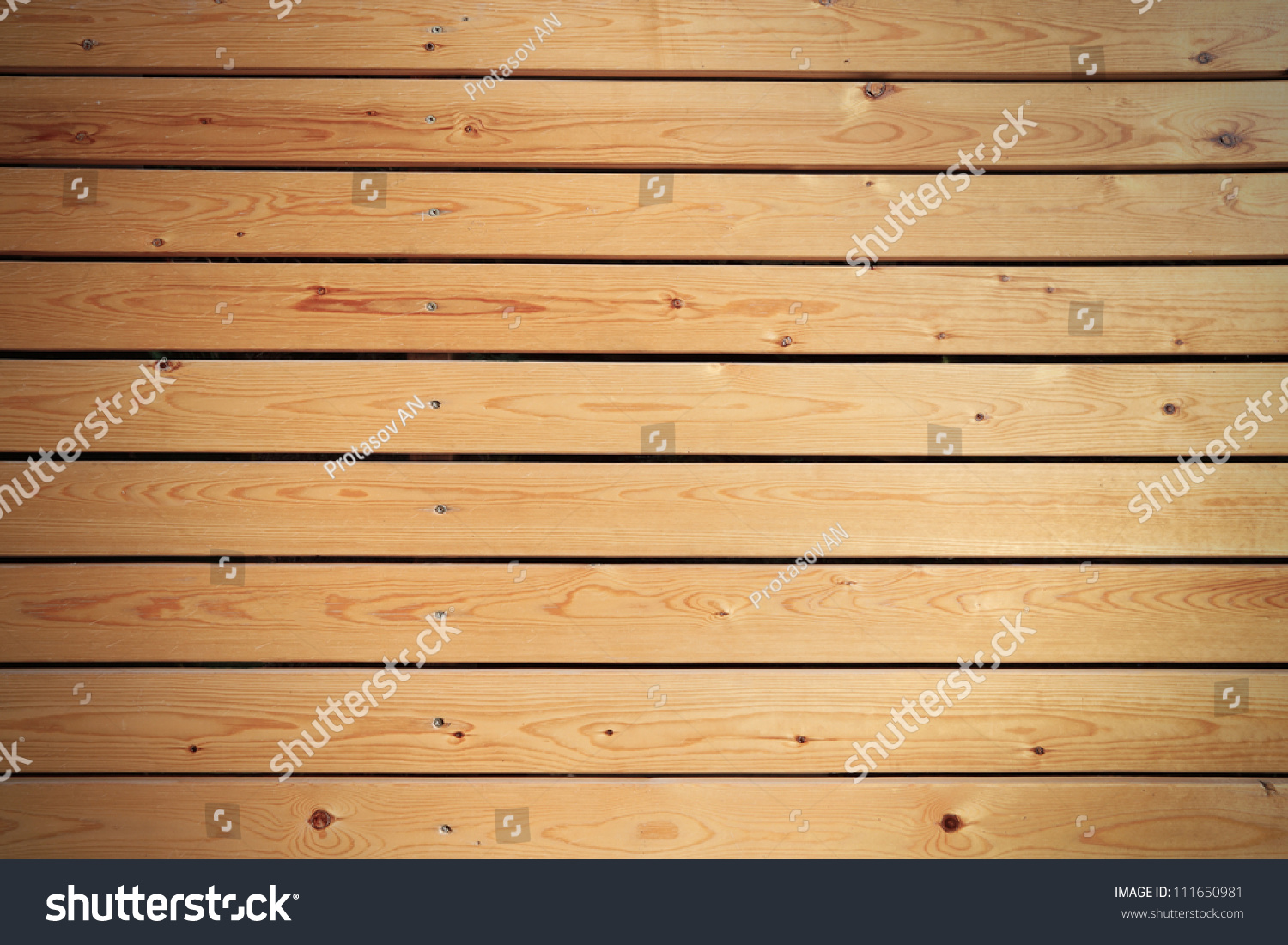 Wooden Panel Wall Background Stock Photo (Royalty Free) 111650981 ...