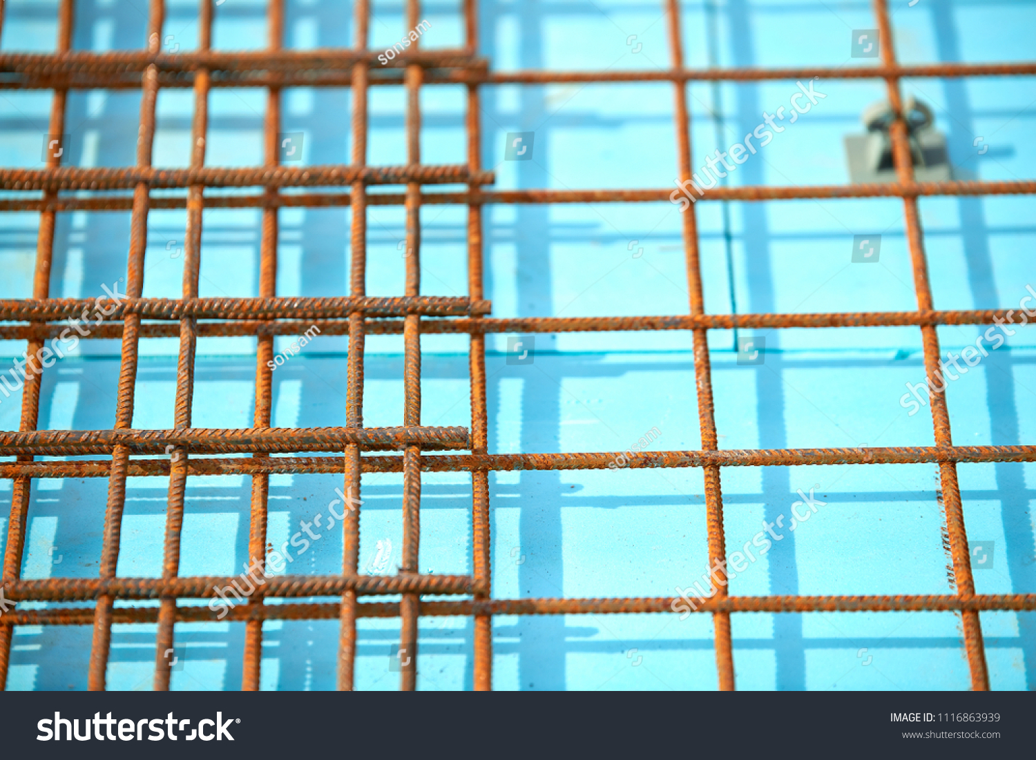 Floor Thermal Insulation Wire Mesh Steel Stock Photo (Download Now ...