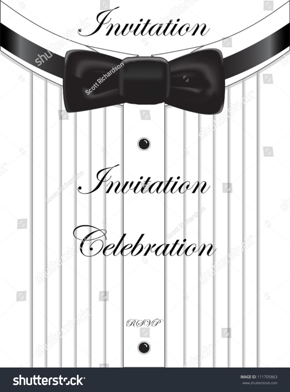 formal invitation stock vector shutterstock formal invitation