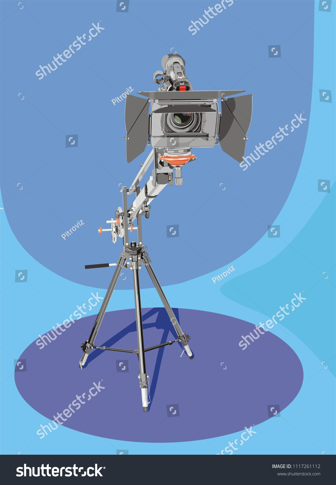 art illustration high definition camcorder on stock illustration