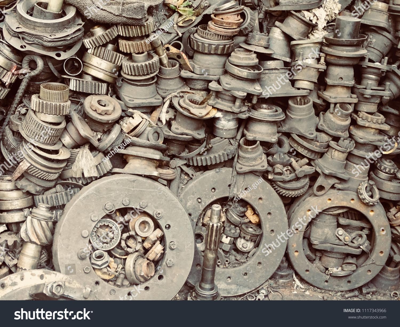Scrap Car Machinery Parts Scrap Parts Stock Photo (Edit Now ...