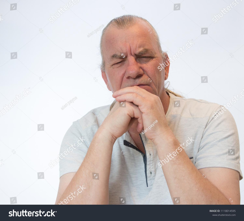 Mature older white