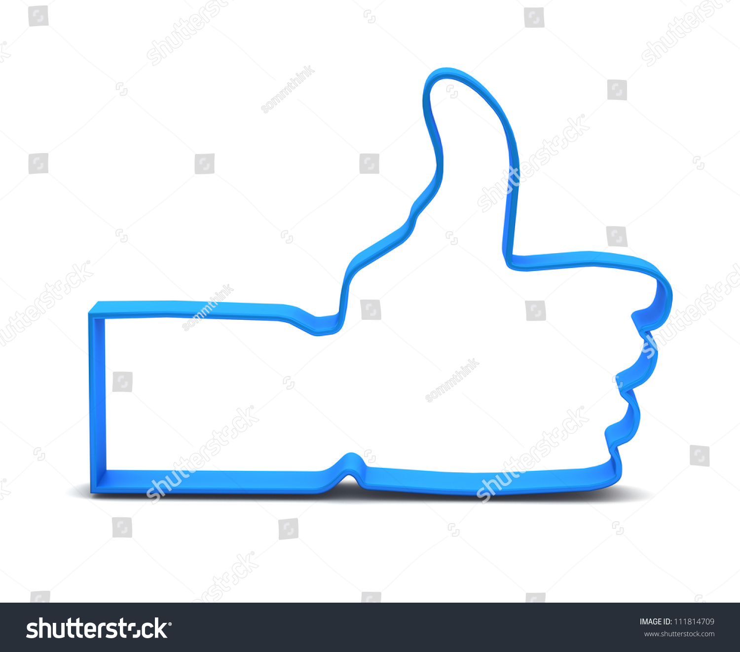 Like symbol on white background stock illustration 111814709 like symbol on white background buycottarizona Choice Image