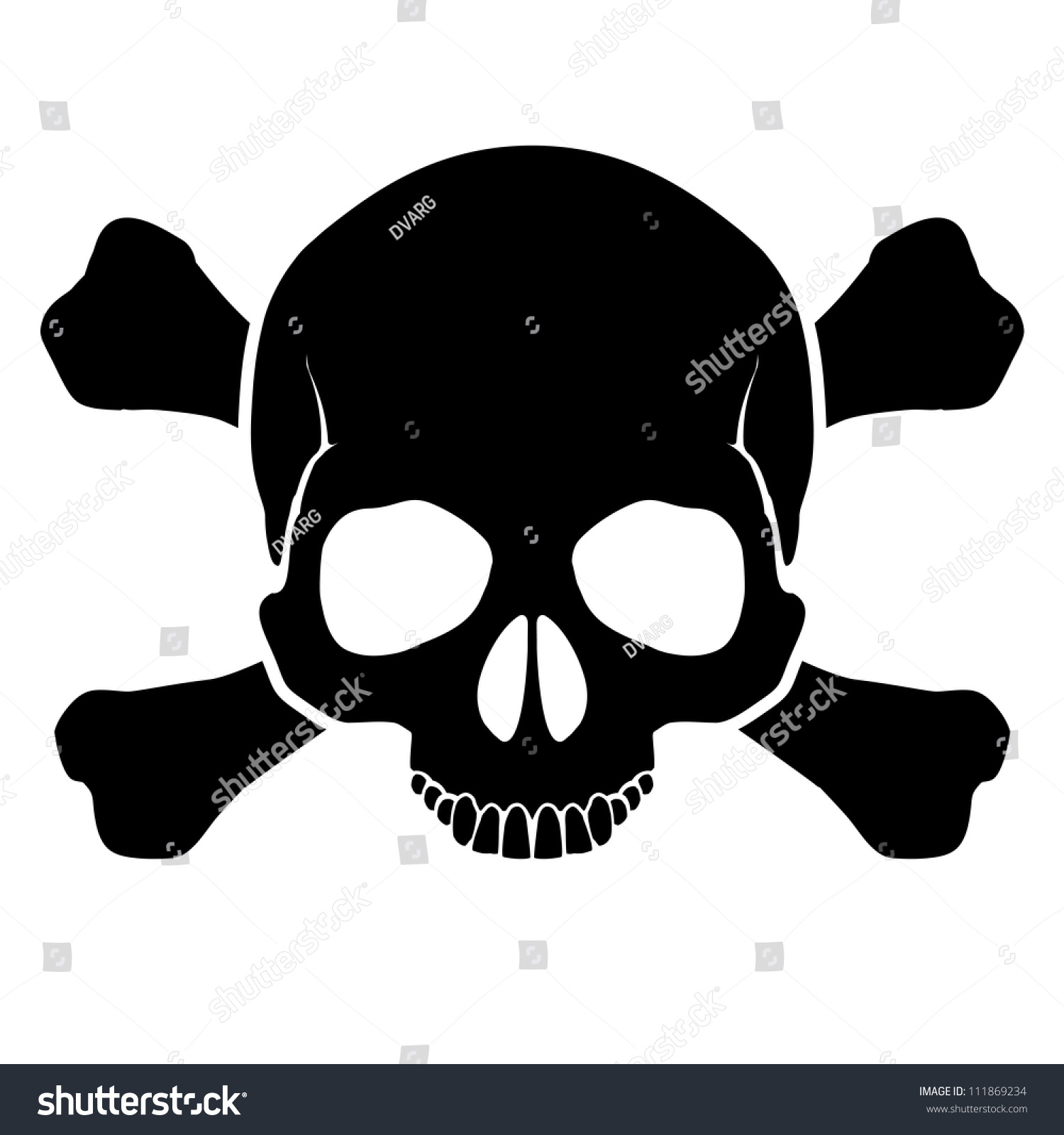 Mark Warning Opportunity Defeat By Electric Stock Vector Royalty