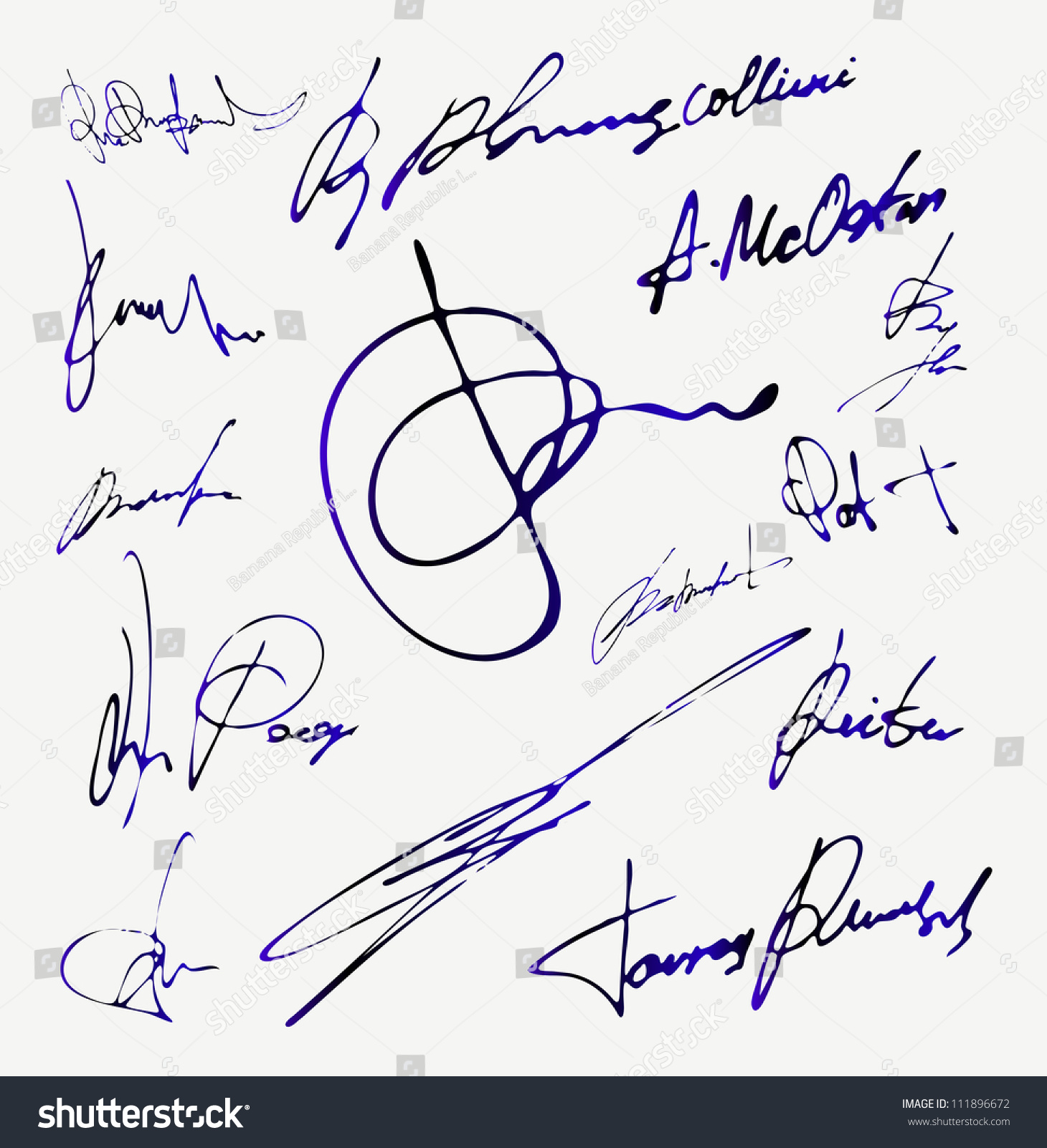 Your Signature Can Save A Life Stock Vector Signature Vector Autograph Name