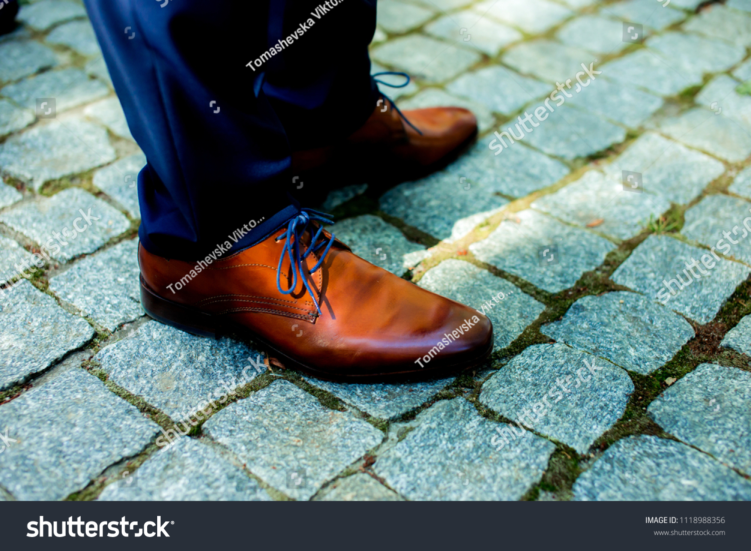 f199e3ce71 Mens Shoes Shoes Groom Brown Shoes Stock Photo (Edit Now) 1118988356 ...