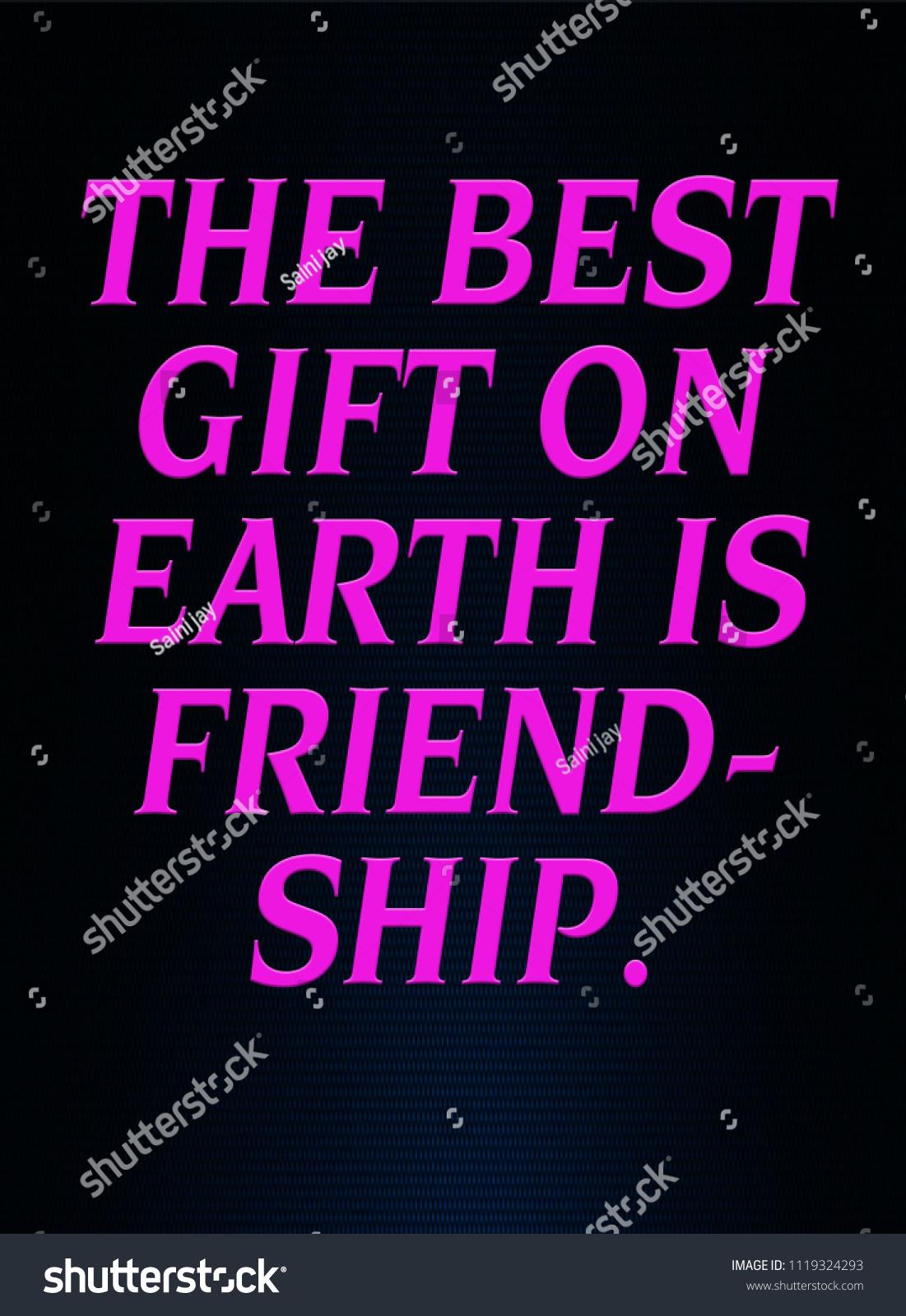 Whatsapp Status On Friend Ship Stock Illustration 1119324293