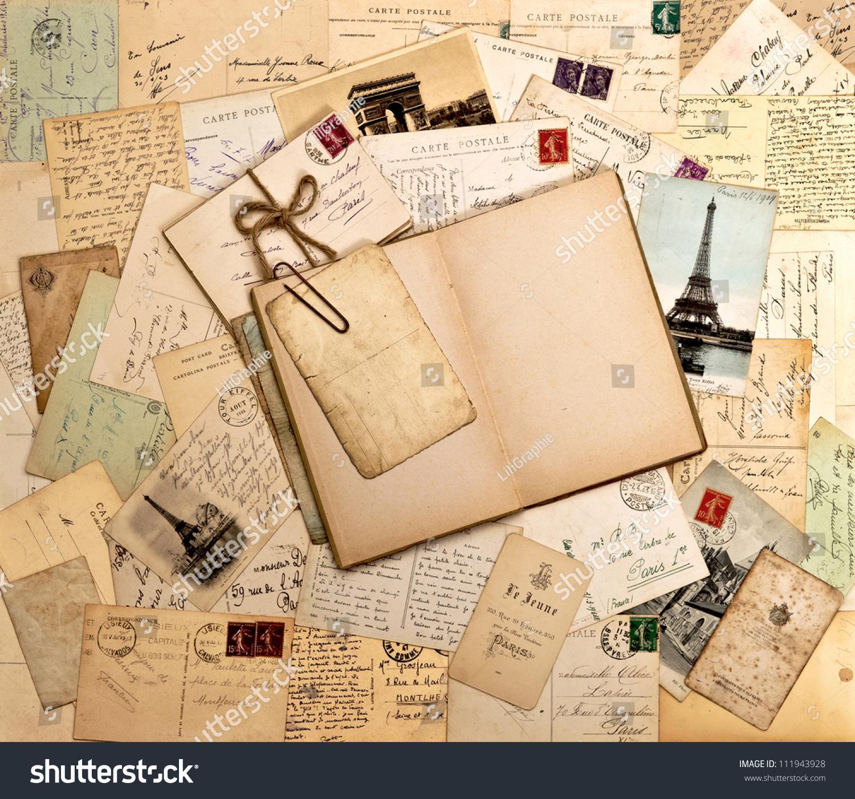vintage letters postcards photographs - photo #40