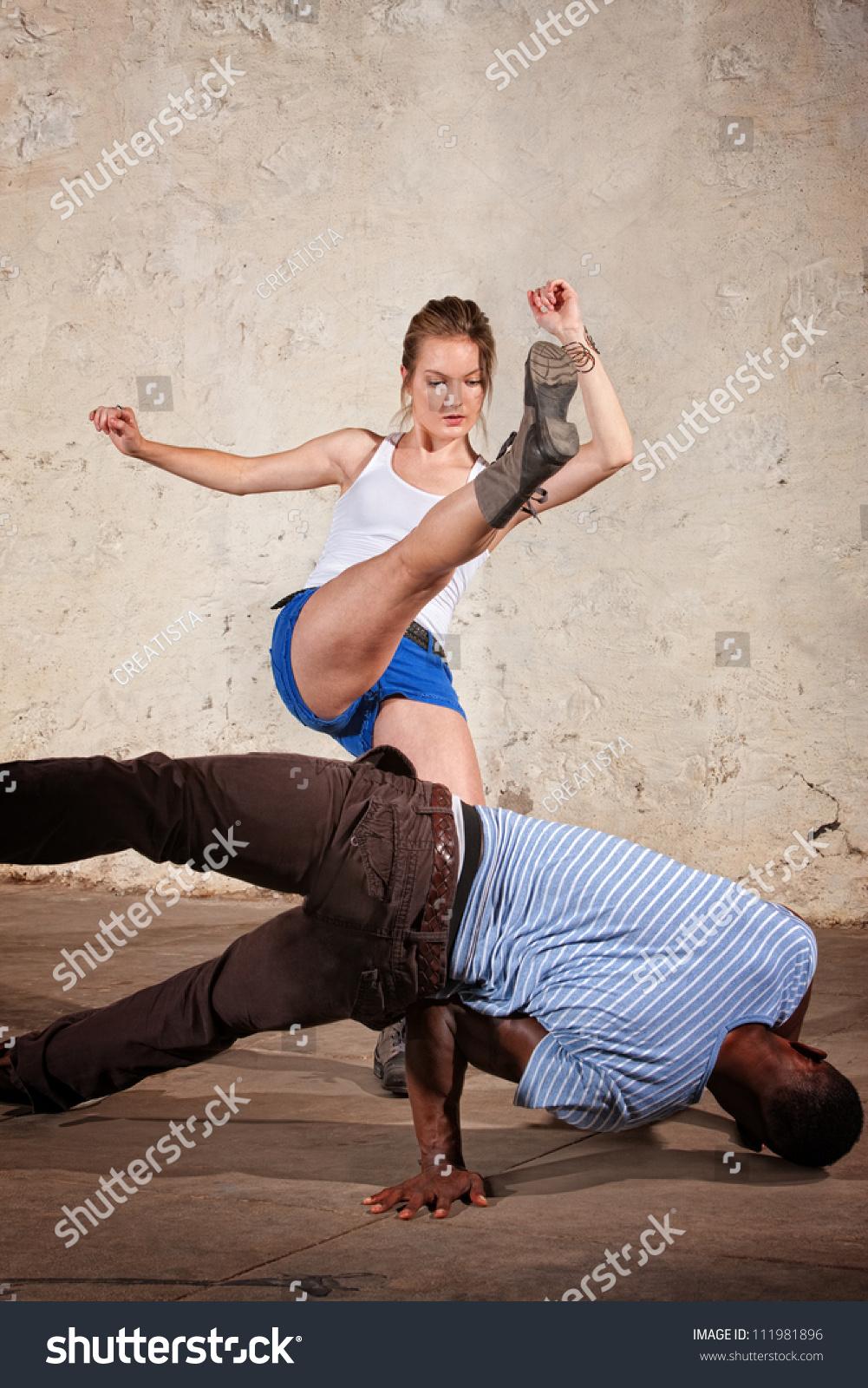 domination Female karate