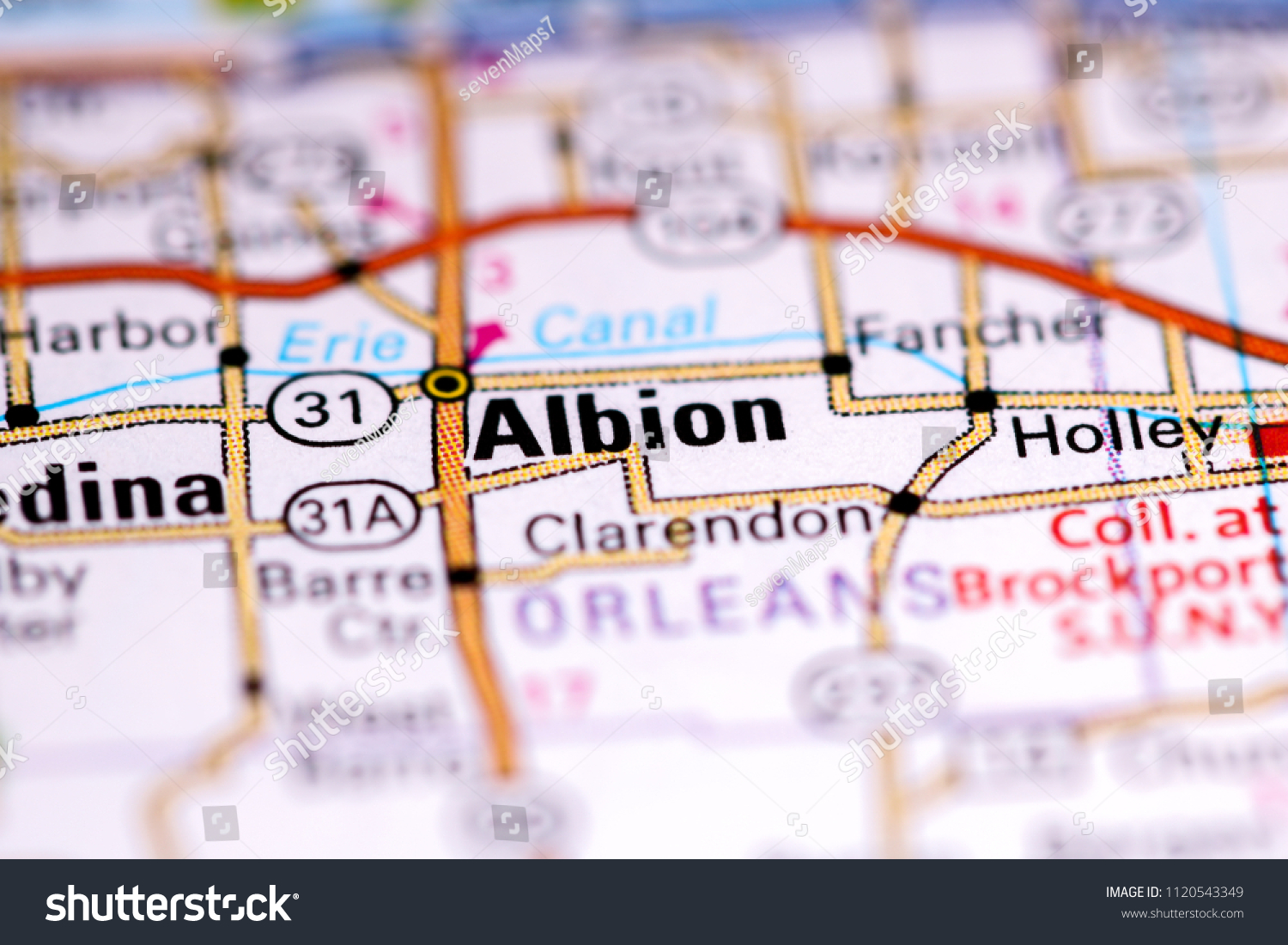 Albion Idaho Map.Albion New York Usa On Map Stock Photo Edit Now 1120543349