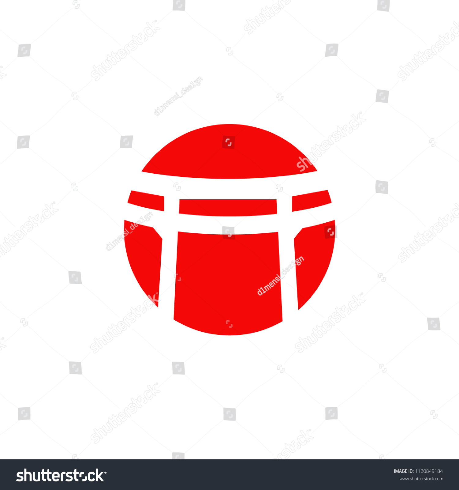 Dojo Logo Design Vector Template Stock Vector (Royalty Free ...