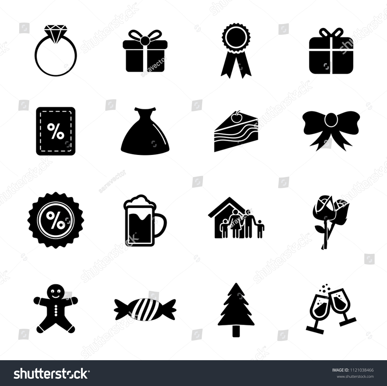 Vector Merry Christmas Illustrations Holiday Celebration Stock