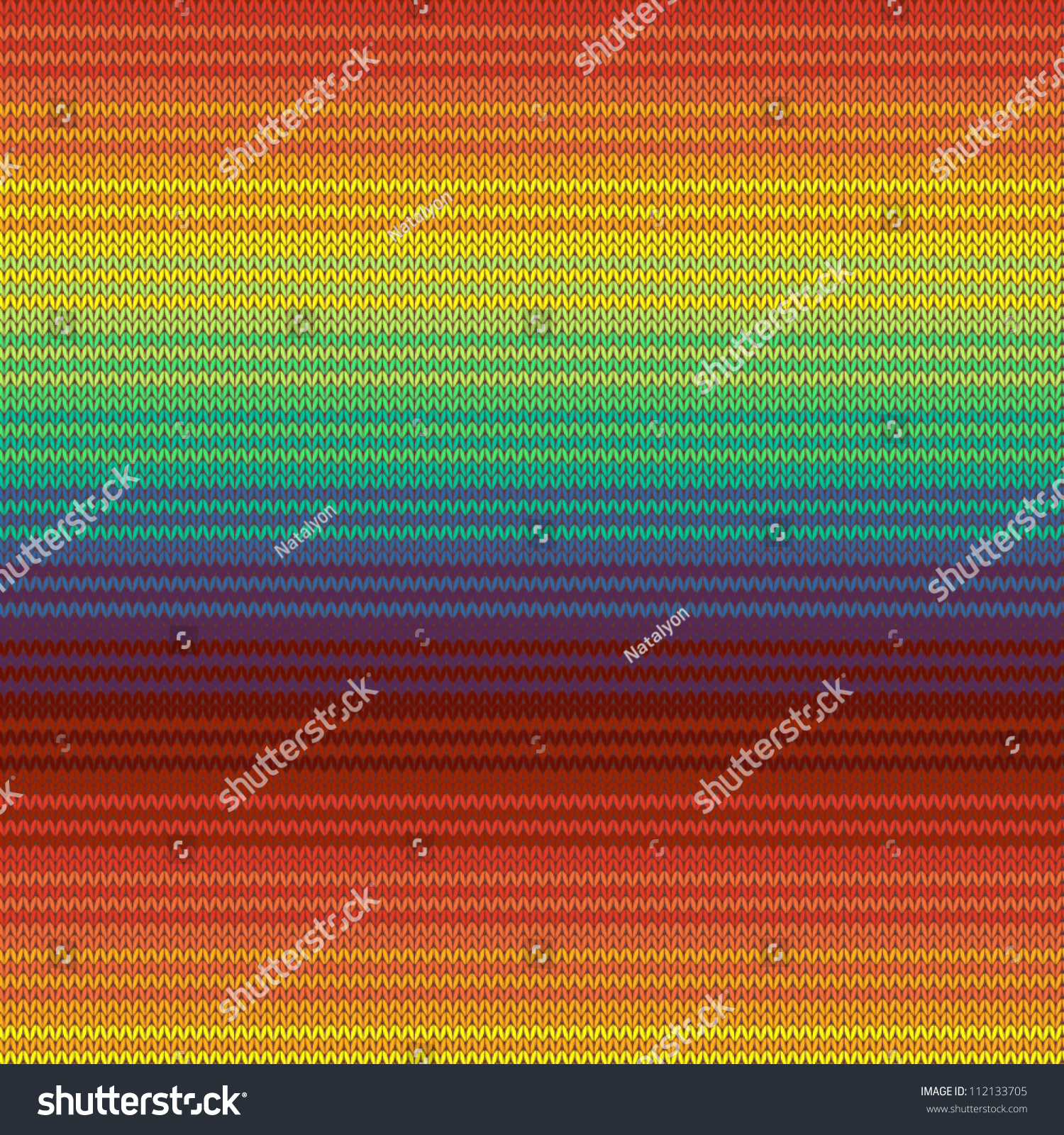 Knitted Mexican Blanket Seamless Pattern, Vector ...