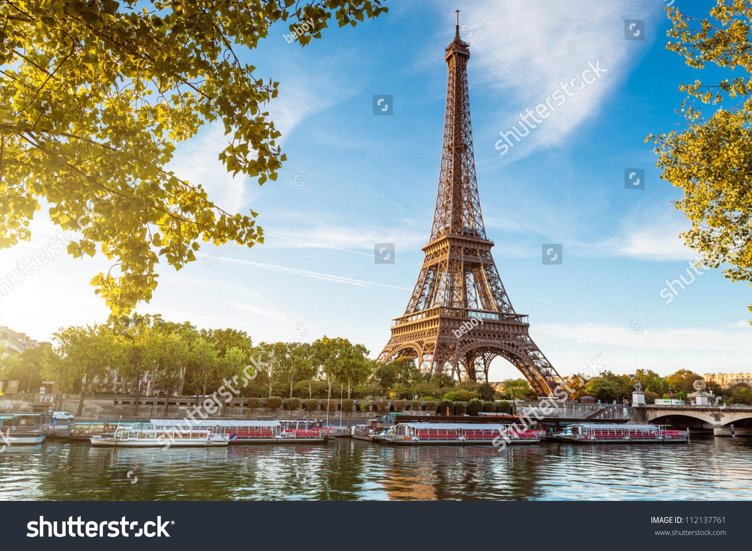 Eiffel tower, Paris. France.