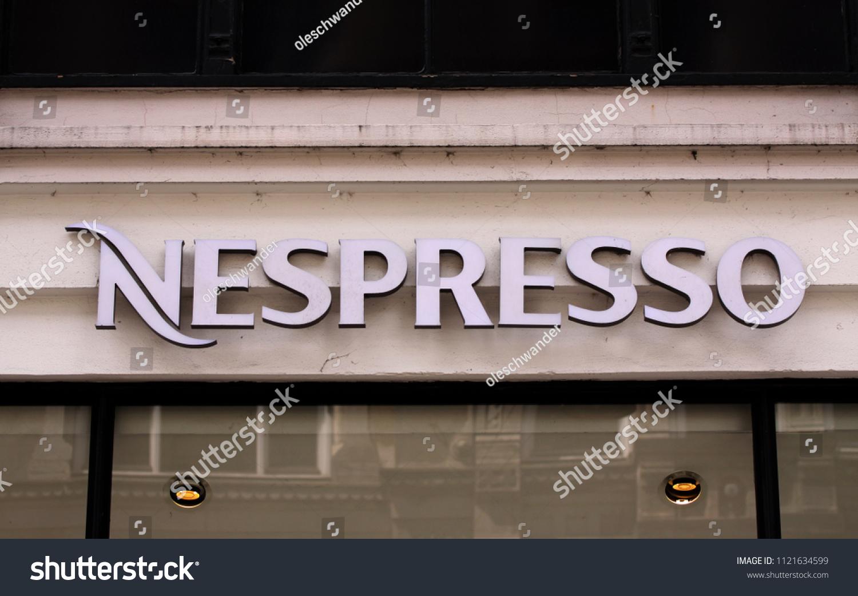Copenhagen Denmark June 26 2018 Nespresso Stock Photo Edit Now