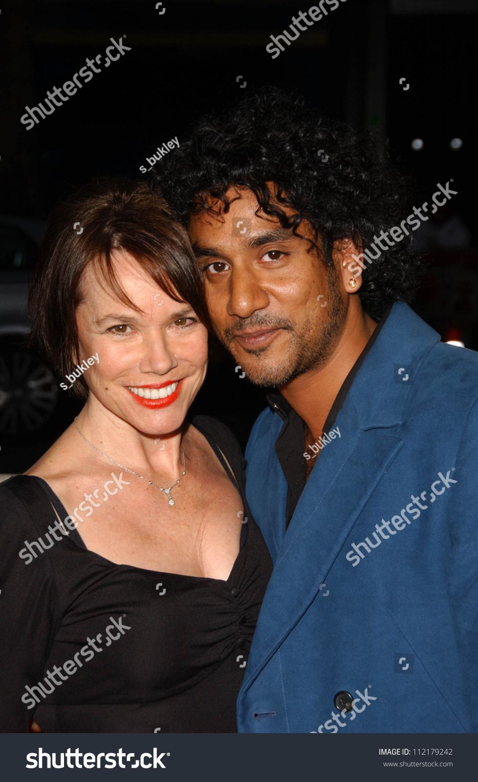 Barbara Hershey And Naveen Andrews At The Los Angeles ...