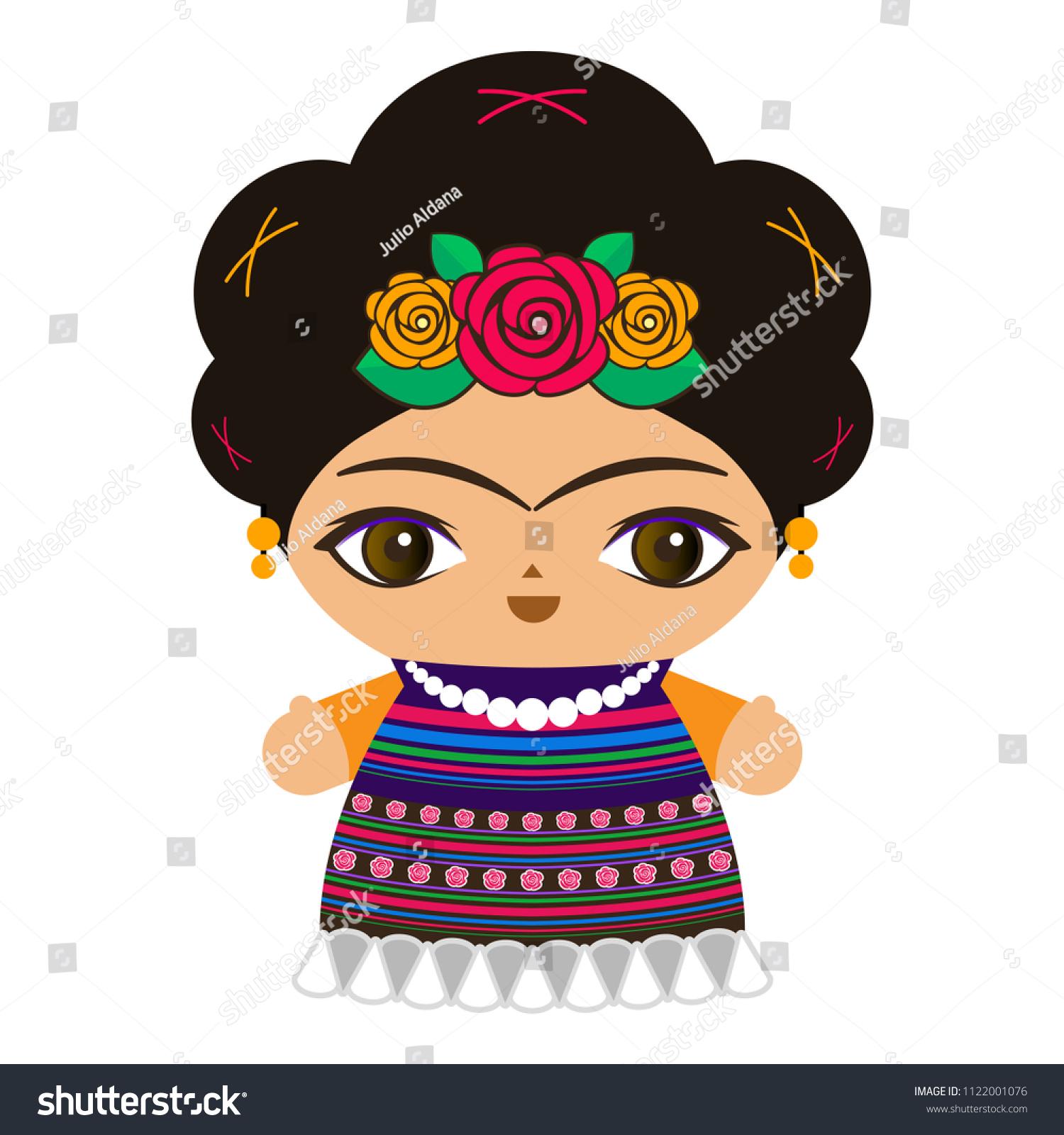 0b11bf6eb Baby Girl Mexican Cartoon