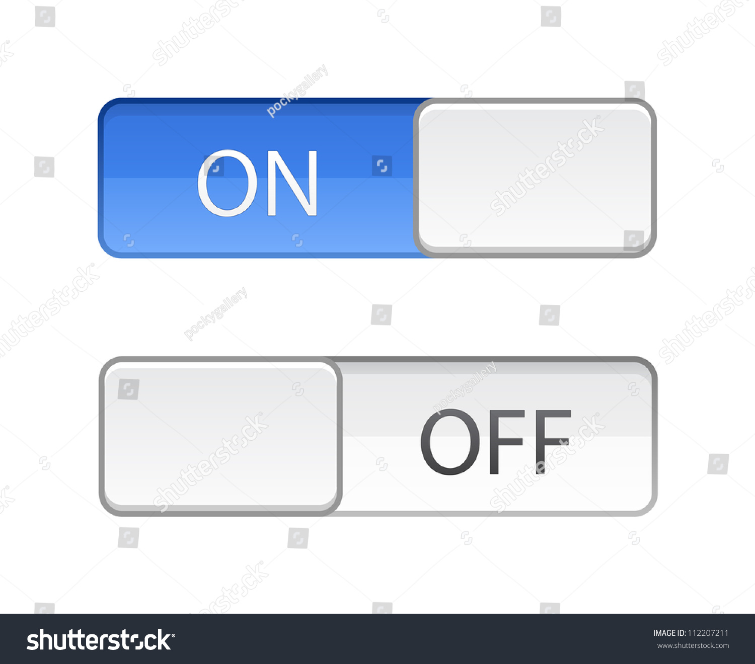 how to put button a slider