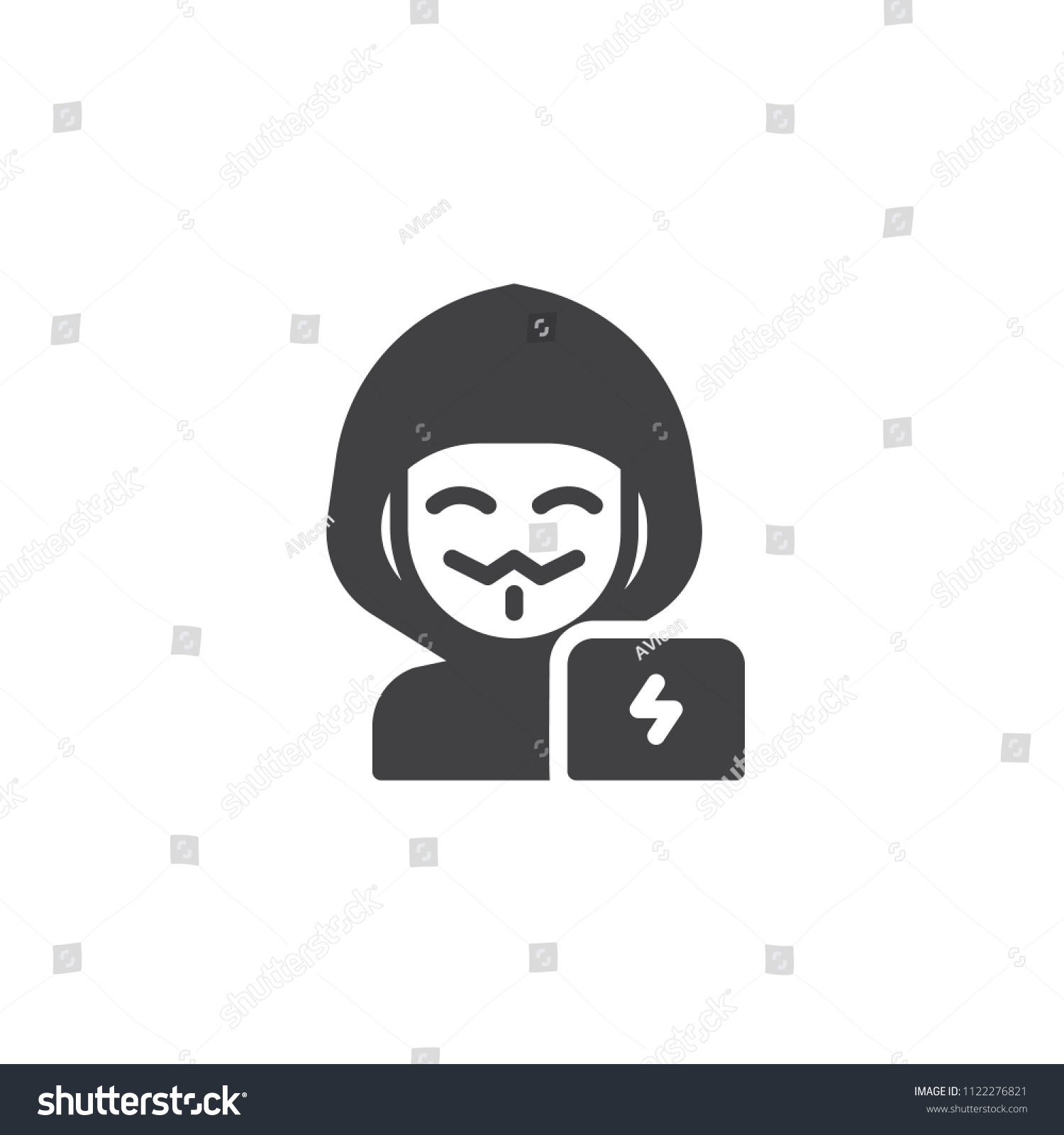 hacker man vector icon filled flat stock vector royalty free 1122276821 https www shutterstock com image vector hacker man vector icon filled flat 1122276821