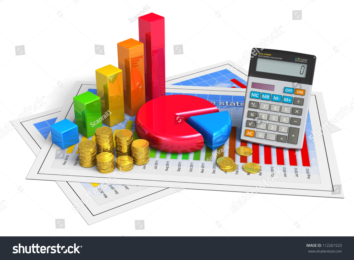 Financial business analytics banking accounting concept stock financial business analytics banking and accounting concept pie chart bar graph ccuart Image collections
