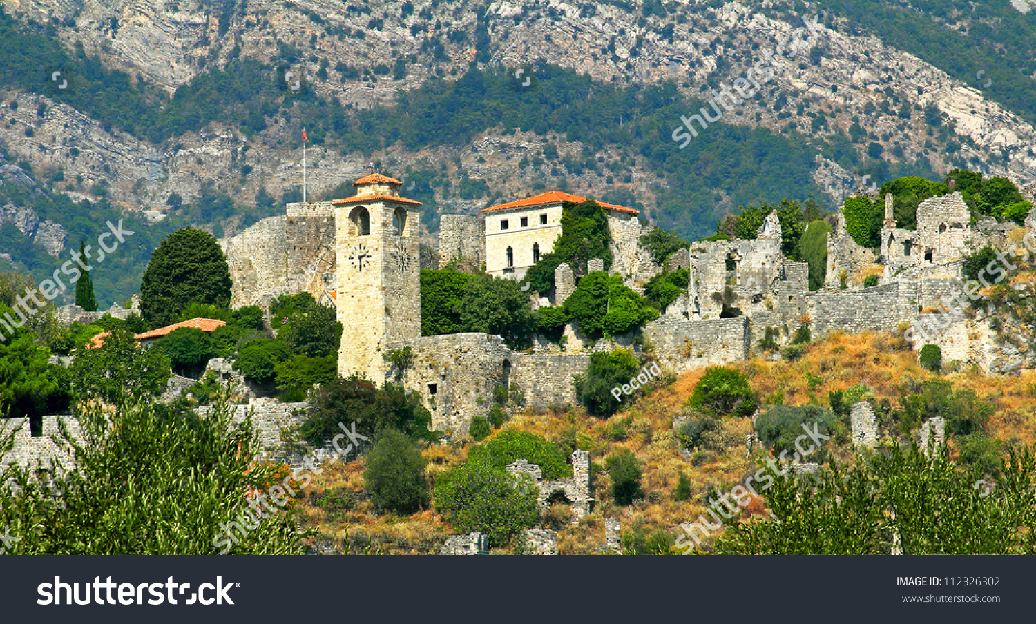 Stari bar montenegro world heritage site stock photo for World heritage site list
