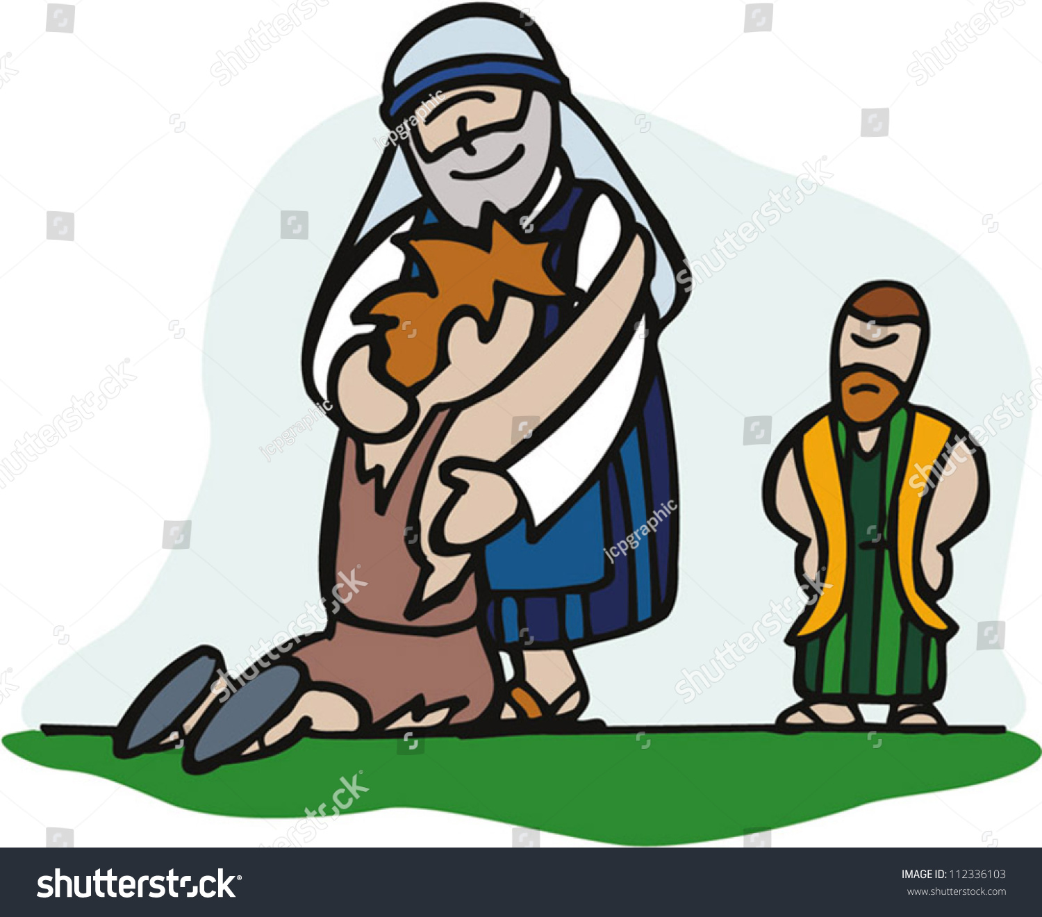 prodigal son this son mine dead stock vector 112336103 shutterstock rh shutterstock com lost property clipart lost and found box clipart