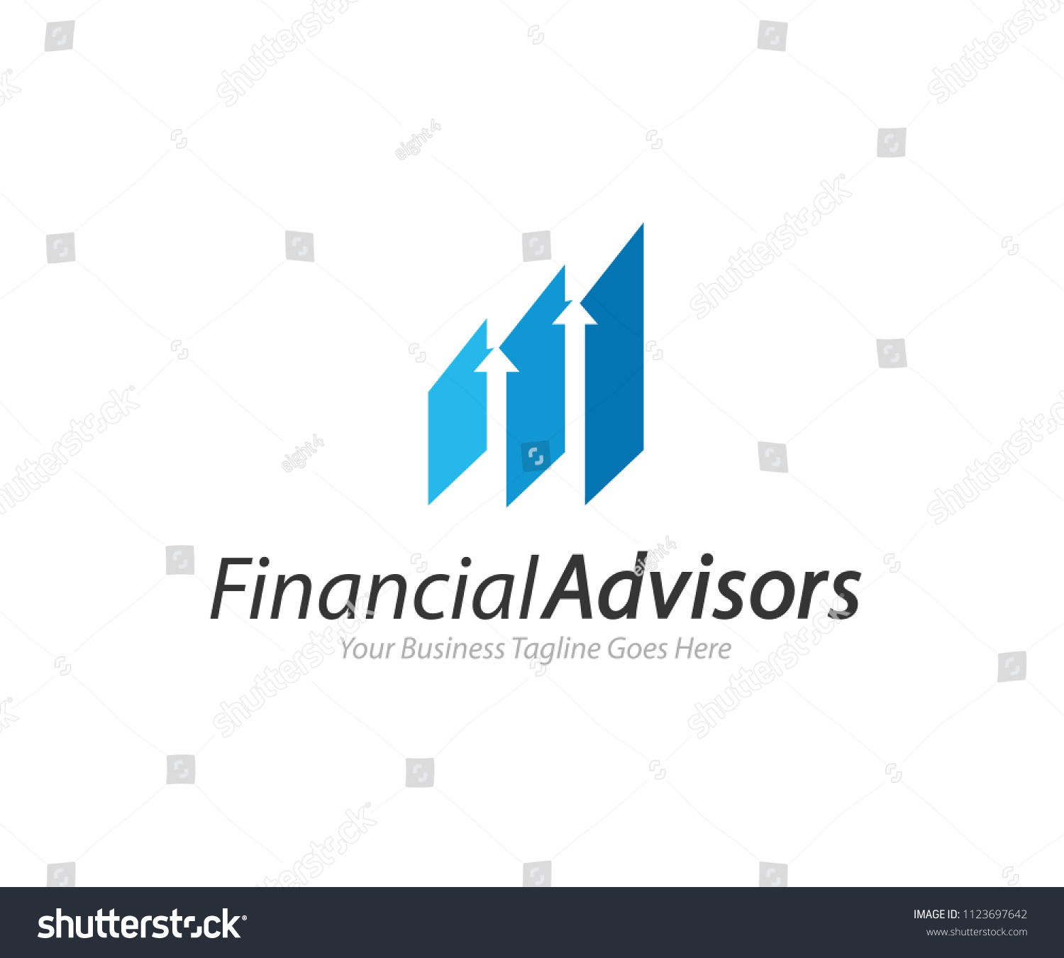 Financial Advisors Logo Design Template Vector Icon #1123697642