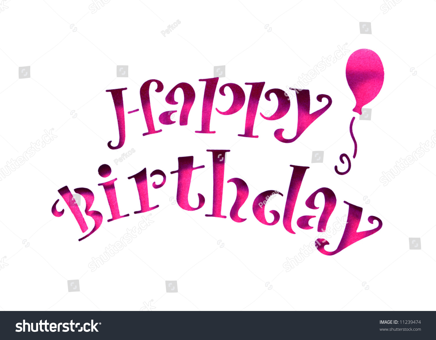 happy birthday letters images happy birthday letters stencil cut out stock photo 17589 | stock photo happy birthday letters stencil cut out 11239474