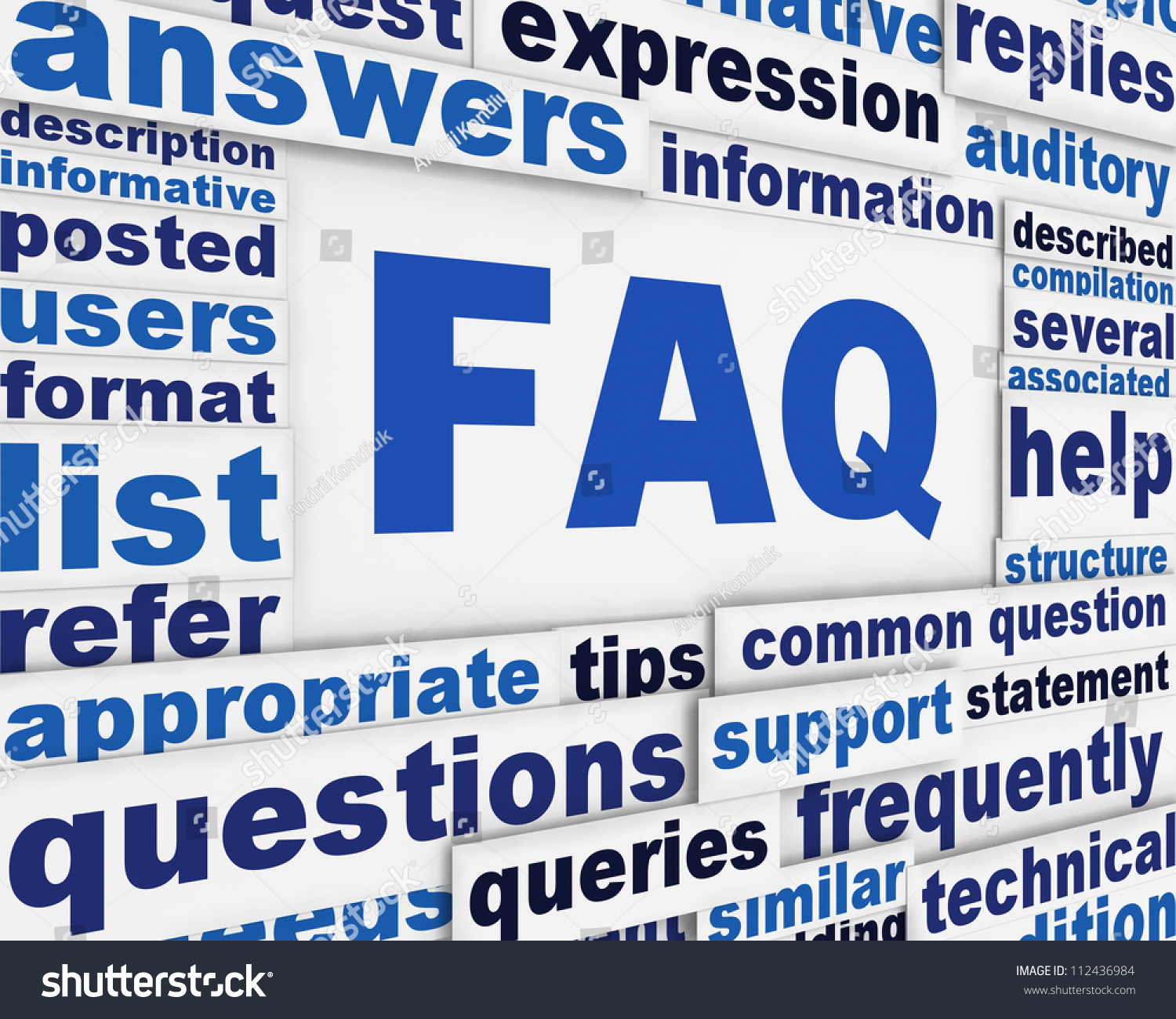 stock images similar to id 222285793 quiz text in speech bubbles faq poster conceptual design questions and answers message background stock photo