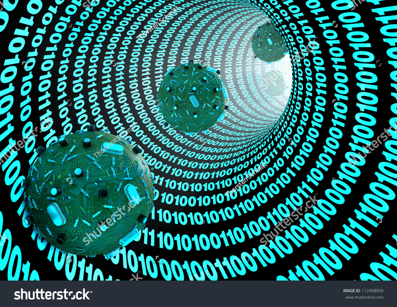 Computer Virus Stock Illustration 112458059 Shutterstock