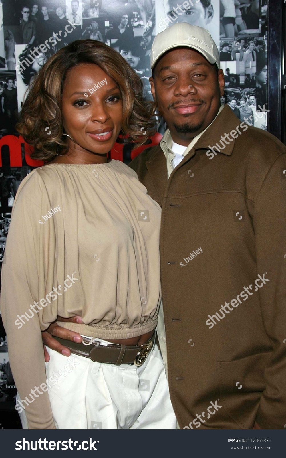 Mary J. Blige And Husband Kendu At The Premiere Of ...