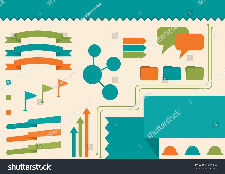 Infographic Design Elements Stock Vector 112494869 - Shutterstock