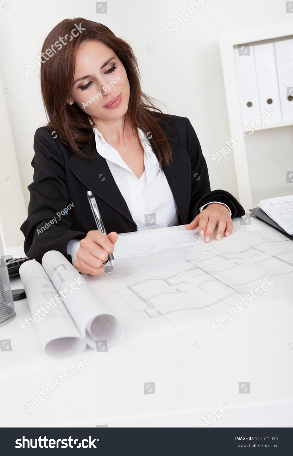 blueprints at office desk preview save to a lightbox blueprints office desk preview save