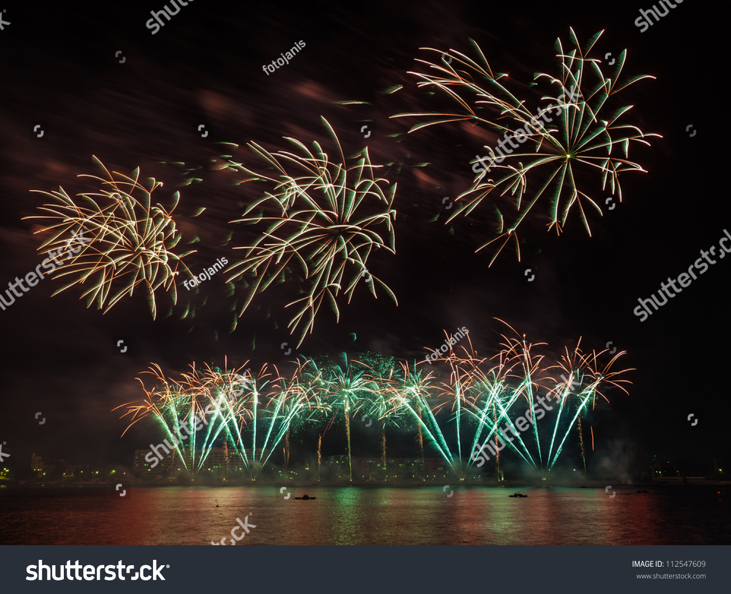 Wallpaper Salute Sky Holiday Colorful 3376x4220: Colorful Fireworks Night Rainbow Salute Different Stock