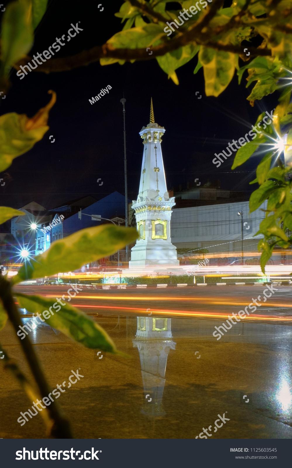 30th June 2018 Yogyakarta Beauty Night Stock Photo Edit Now Explore Jogja Of The At Tugu