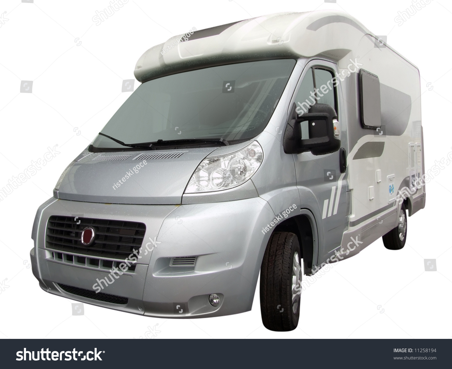 Front Rv Truck Isolated Stock Photo Edit Now 11258194