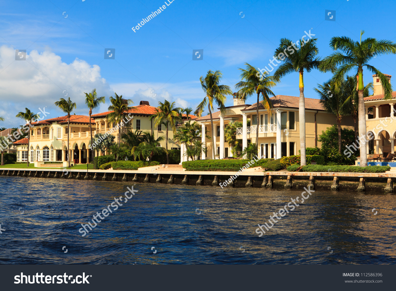 View Of The Fort Lauderdale Intracoastal Waterway From A