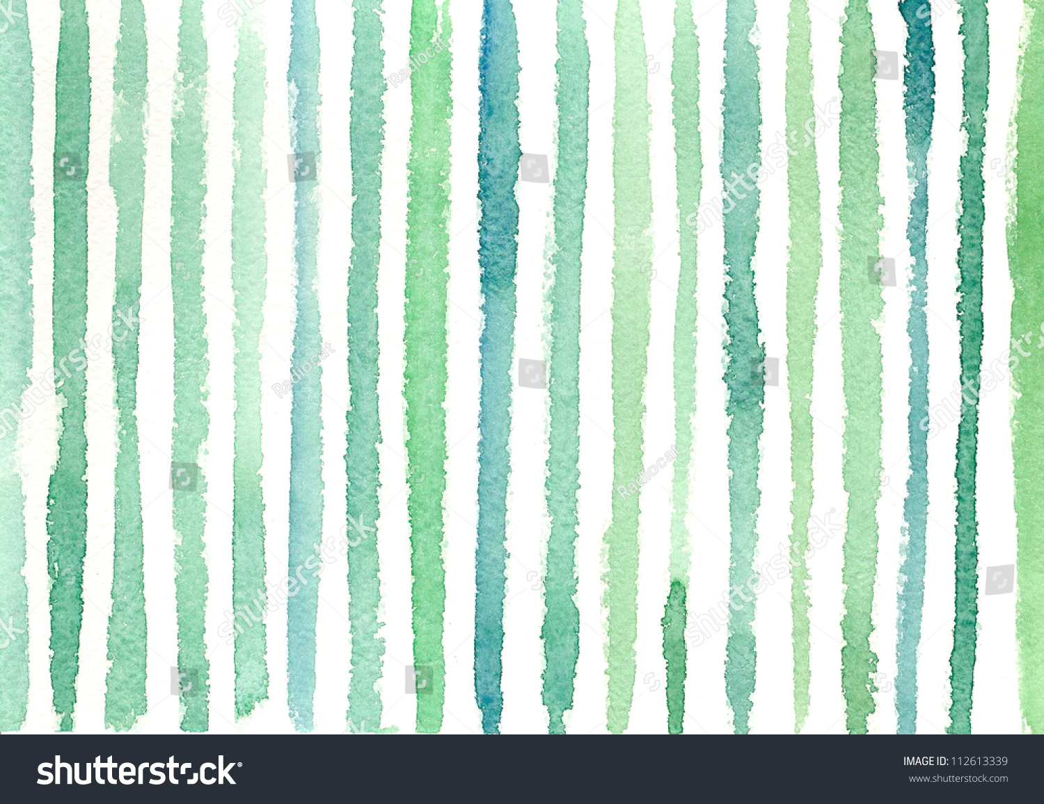 Watercolor Background Stripes 1 Stock Illustration