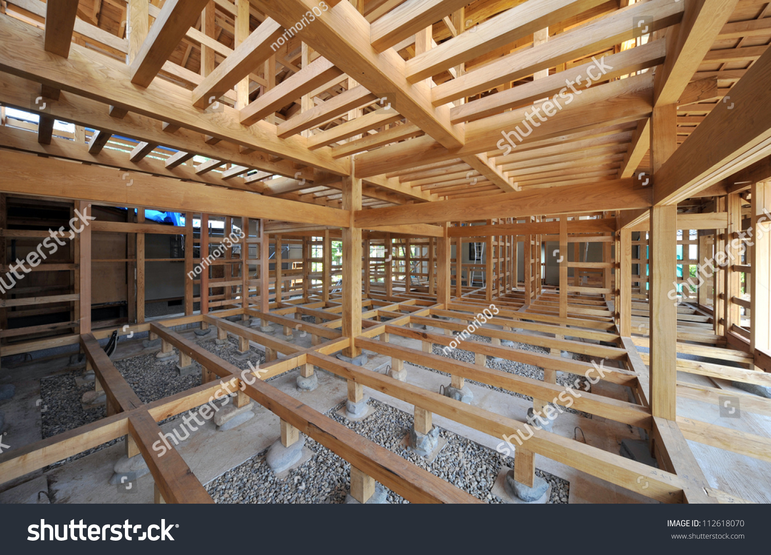 new residential construction home framing japanese style 1 2
