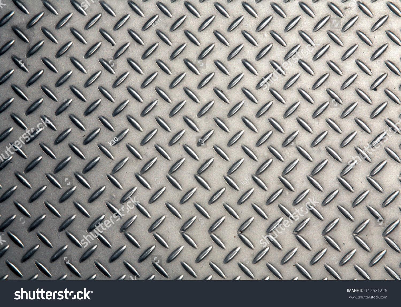 seamless steel diamond plate texture stock photo 112621226