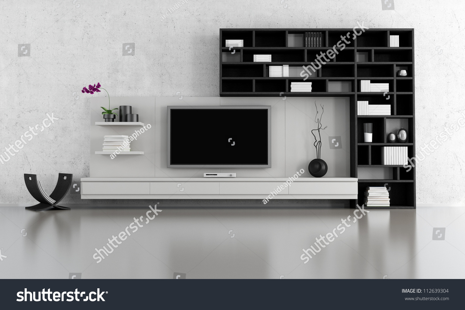 tv stands for living room black white living room tv stand stock illustration 20302