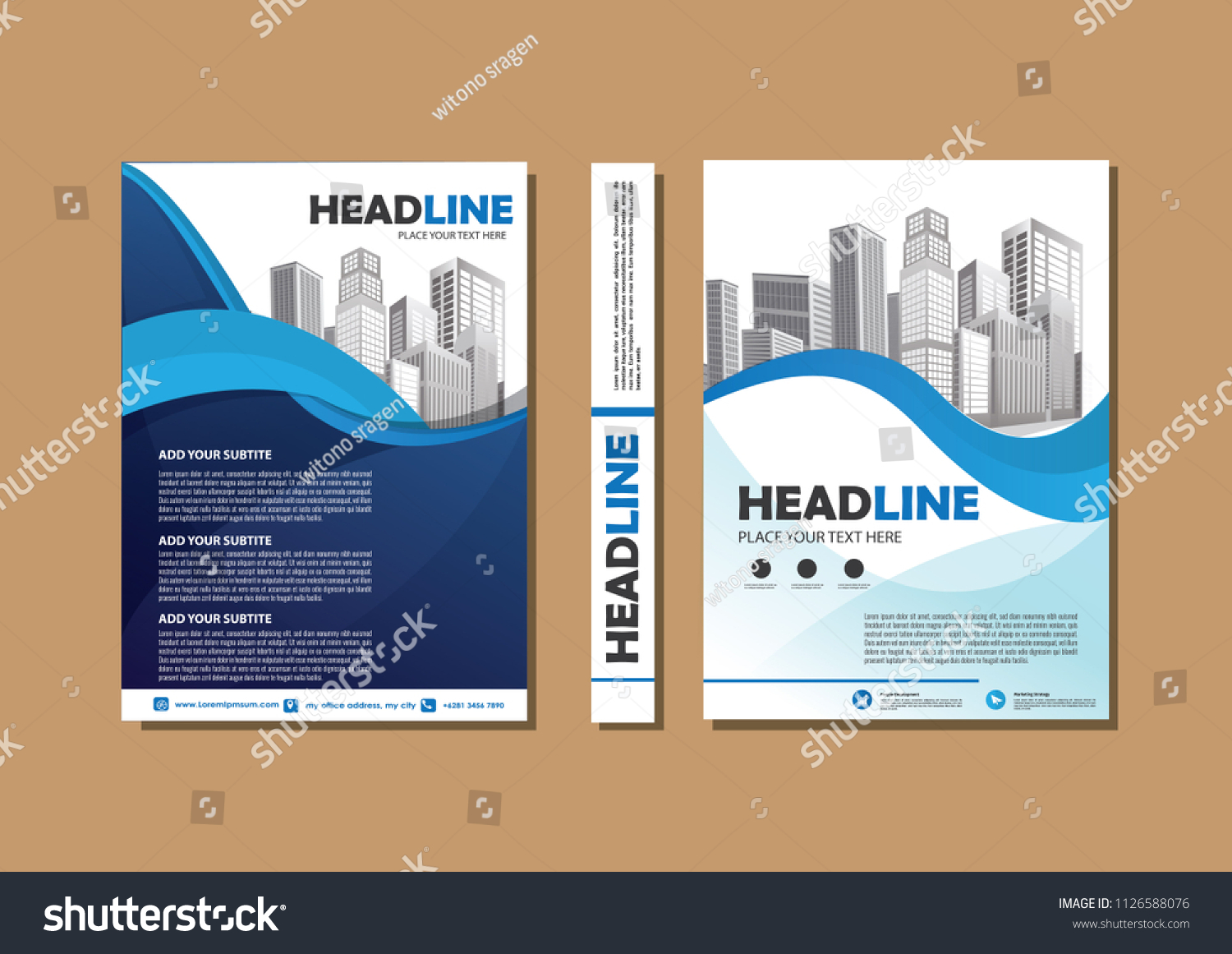 design cover book brochure flyer layout stock vector royalty free