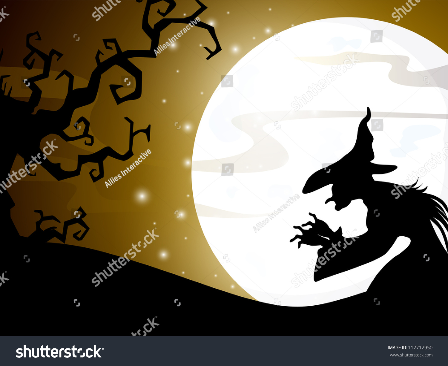 Stock Images Similar To Id 112712950 Halloween Full Moon Night - Save to a lightbox find similar images