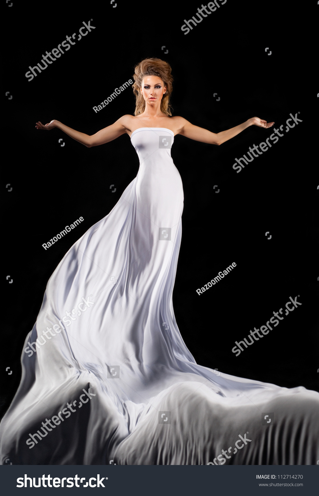 White Flowing Dresses