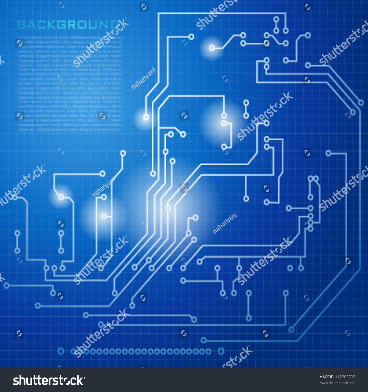 Snap Electronic Circuit Board Vector Background Stock Image 45284500 Abstract Hitech