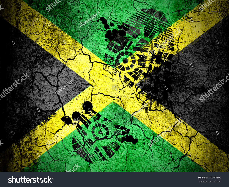<b>JAMAICAN FLAG</b> - Download at Vectorportal
