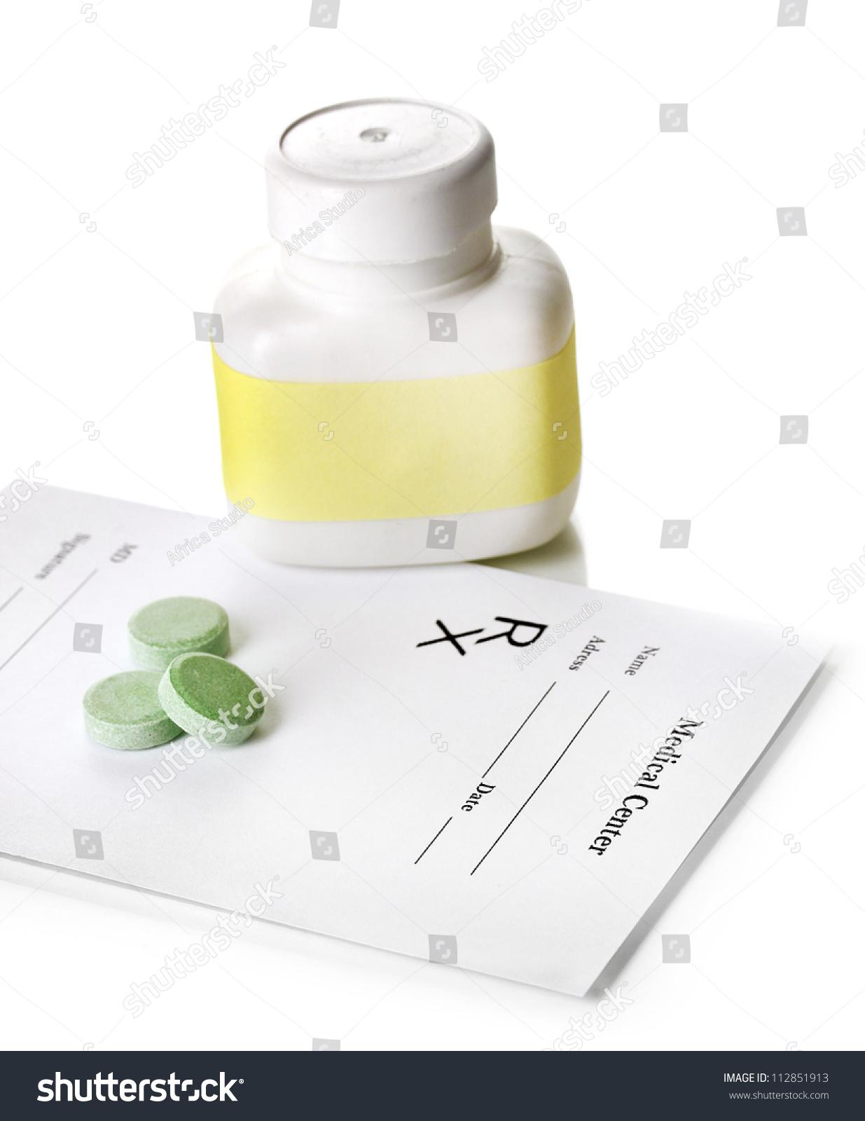 Prescription Pills White Rose