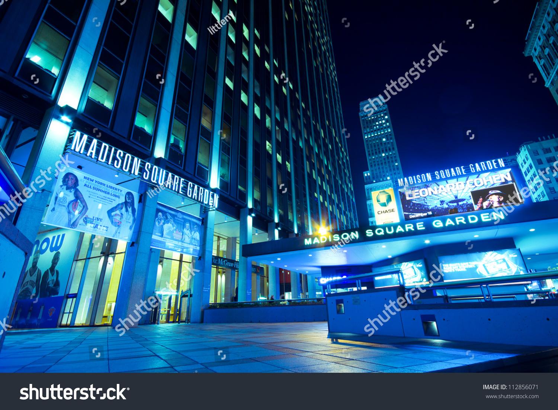 New York City Sept 13 Entrance To Madison Square Garden In New York City On Sept 13 2012