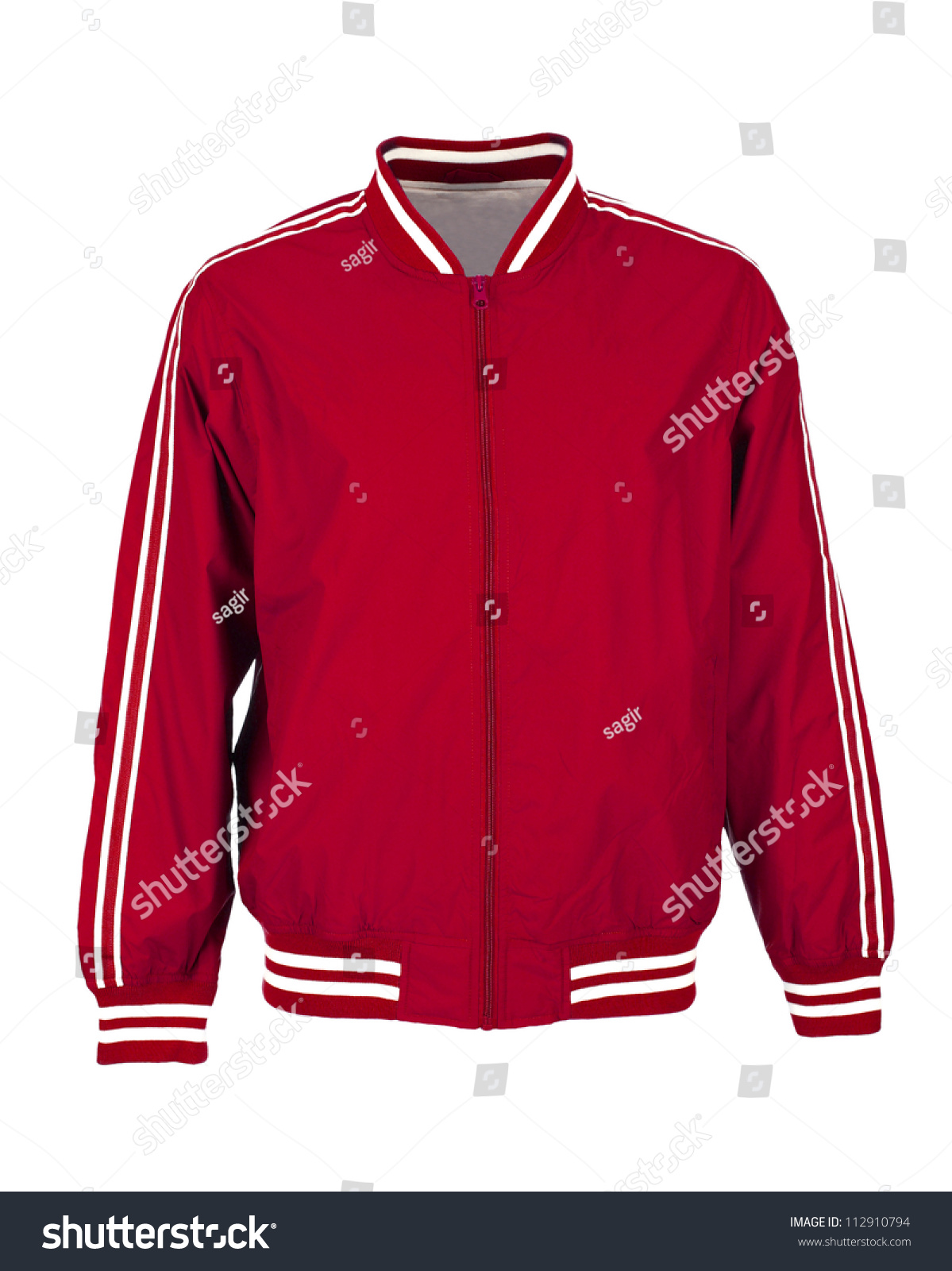 Red Sports Jacket z0ZZMs